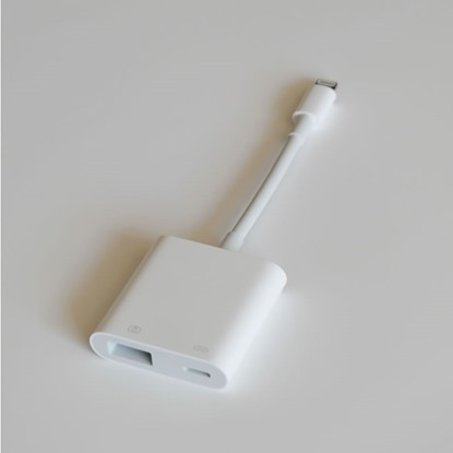 Picture of Apple Lightning to USB 3 Camera Adapter