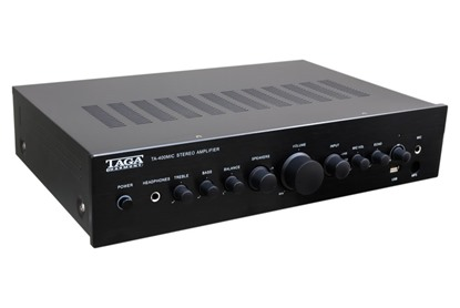 integrated amplifier for custom installation Taga Harmony