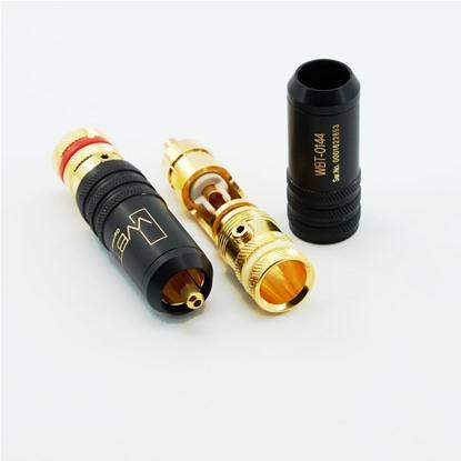 high end rCA plug WBT 0144 Cu