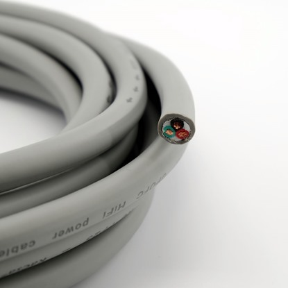 Kacsa Audio power cable from reel