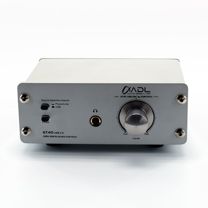 usb dac wit phono stage and headphone amplifier