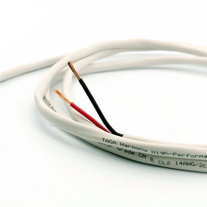 taga harmony installin speaker cable 14 AWG