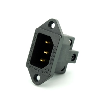 furutech iec socket, pure copper gold plated
