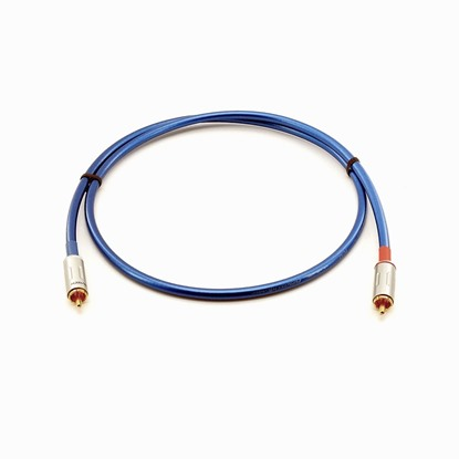 Furutech coaxial digital cable FC-62 blue 1 m for  diagital analaog and video